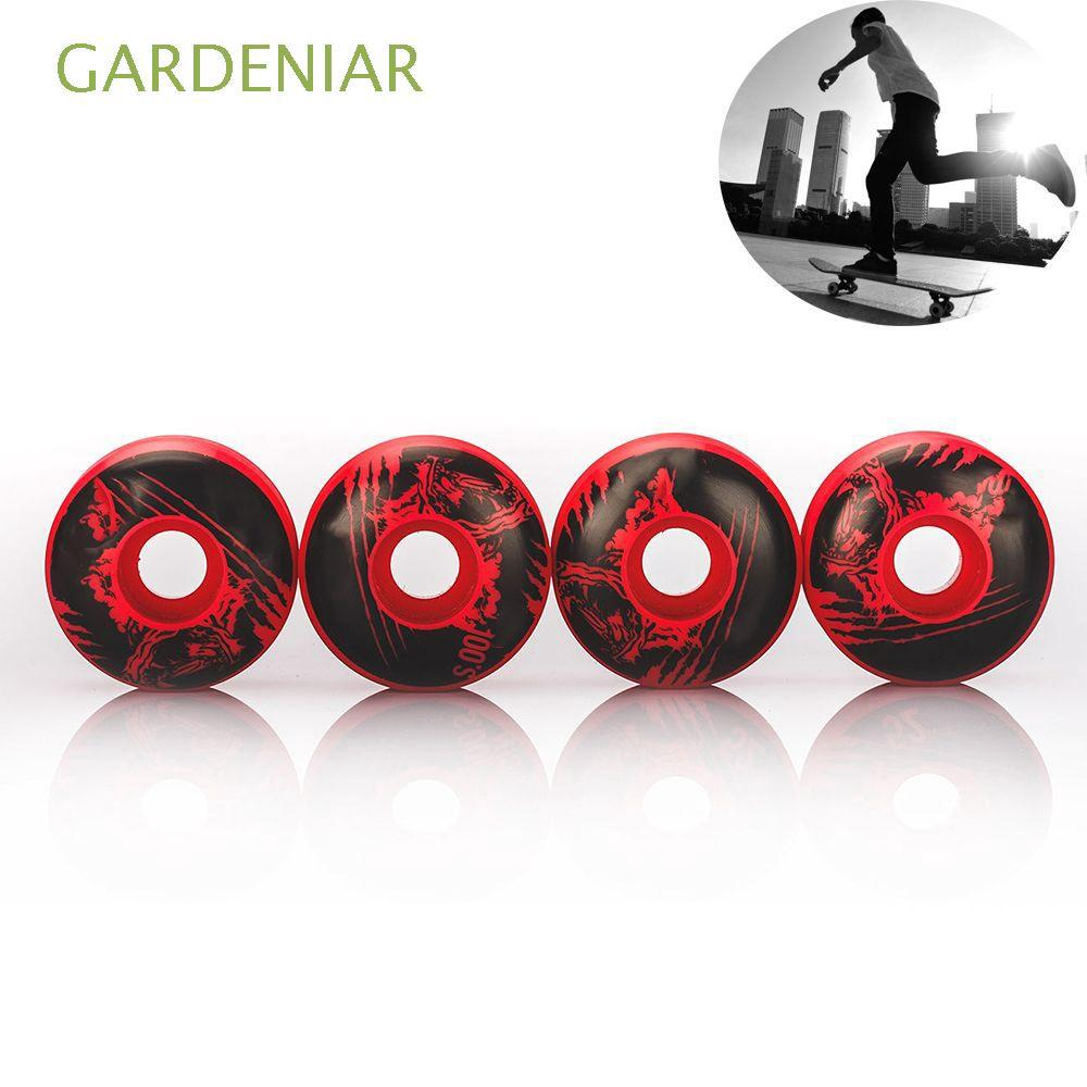 4pcs/set 52 X 30mm Brand New Red Durable Fashionable Professional Skateboard Wheels