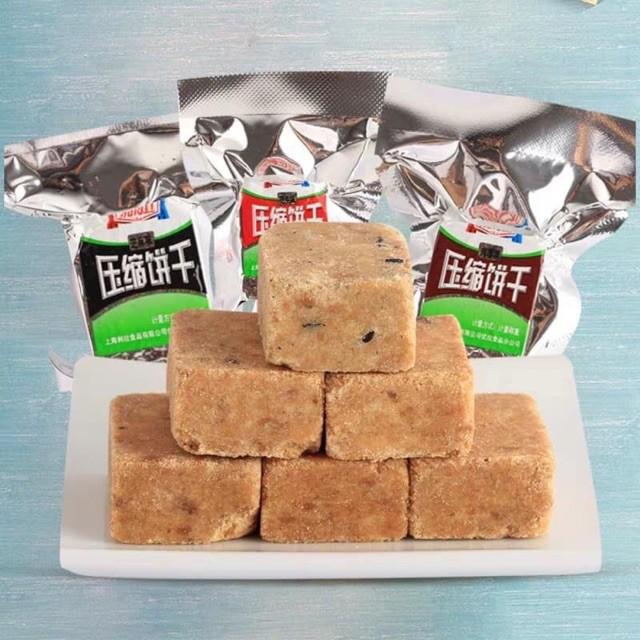 500gr lương khô mini LiLa, bánh lương khô nhỏ tiện lợi, dinh dưỡng có nhiều vị (cacao, lạc, mè
