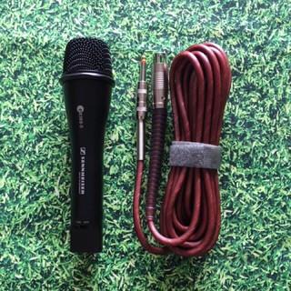 Micro karaoke Sennheiser E838ii dòng mic có dây với độ dài dây 5m - mic dây dẻo độ bền cao thumbnail