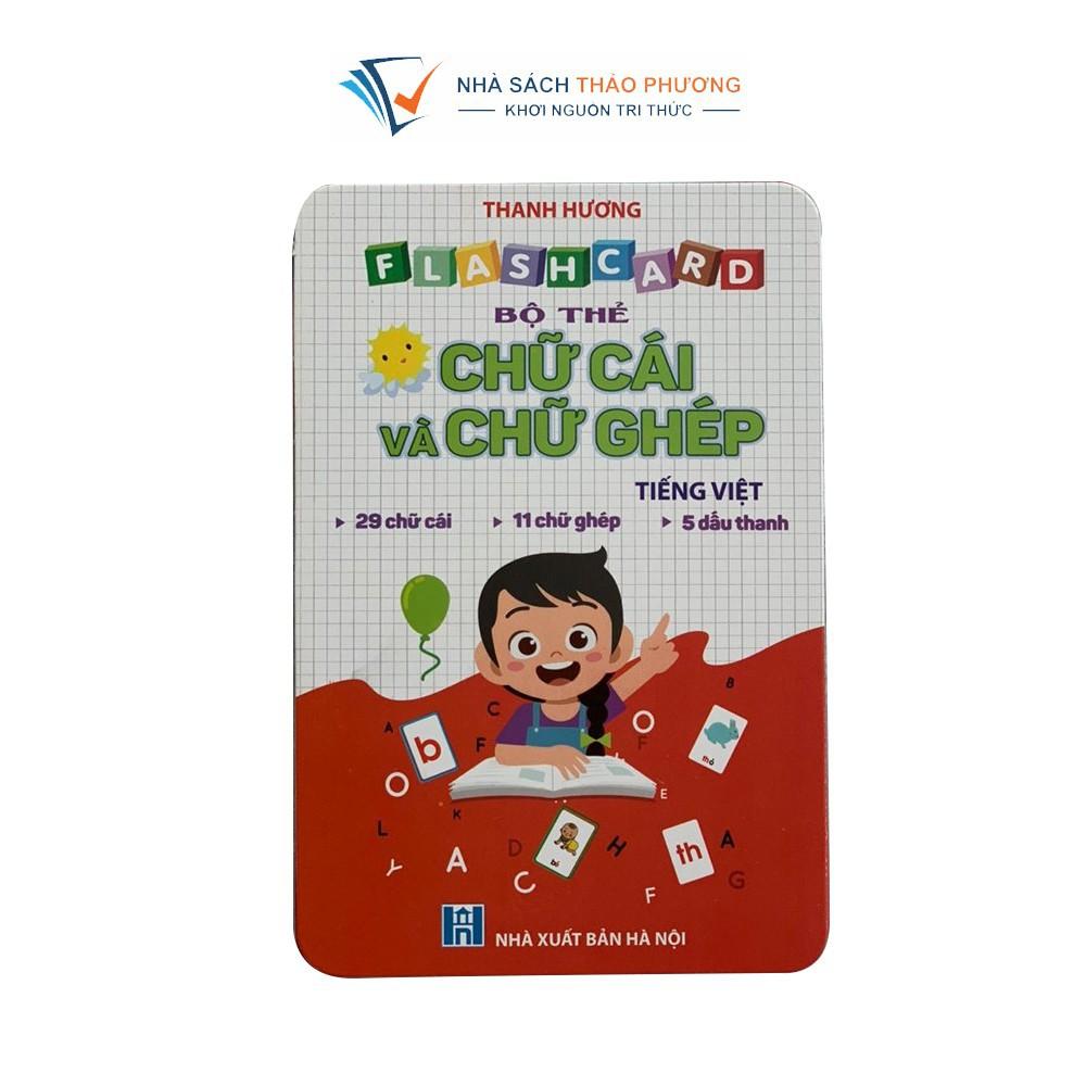 Sách - Toán tư duy, Tập đánh vần, Luyện viết và Bộ thẻ Flash card chữ cái và chữ ghép