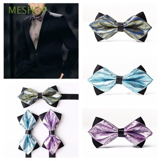 Classic Satin Party Tuxedo Neckwear Wedding Bow Tie