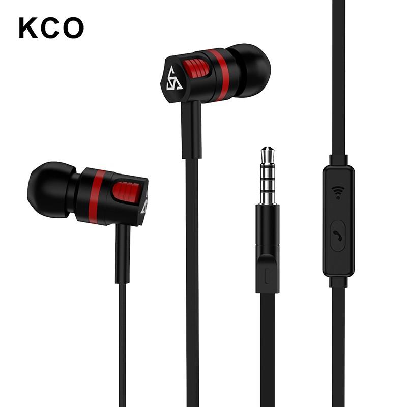 Tai Nghe KCO T2 Cách Âm Tích Hợp Micro Cho iOS / Android / PC