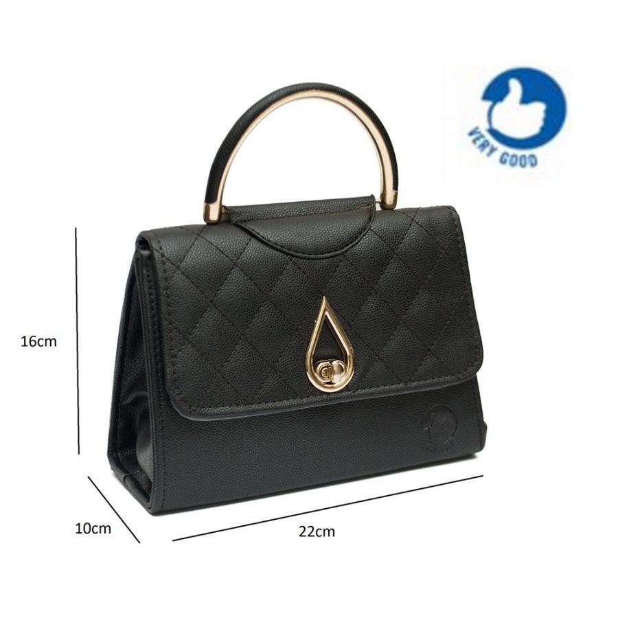 Túi xách đeo chéo nữ khóa giọt lệ Verygood MS7 - màu đen - 3125063 , 1029129610 , 322_1029129610 , 199000 , Tui-xach-deo-cheo-nu-khoa-giot-le-Verygood-MS7-mau-den-322_1029129610 , shopee.vn , Túi xách đeo chéo nữ khóa giọt lệ Verygood MS7 - màu đen
