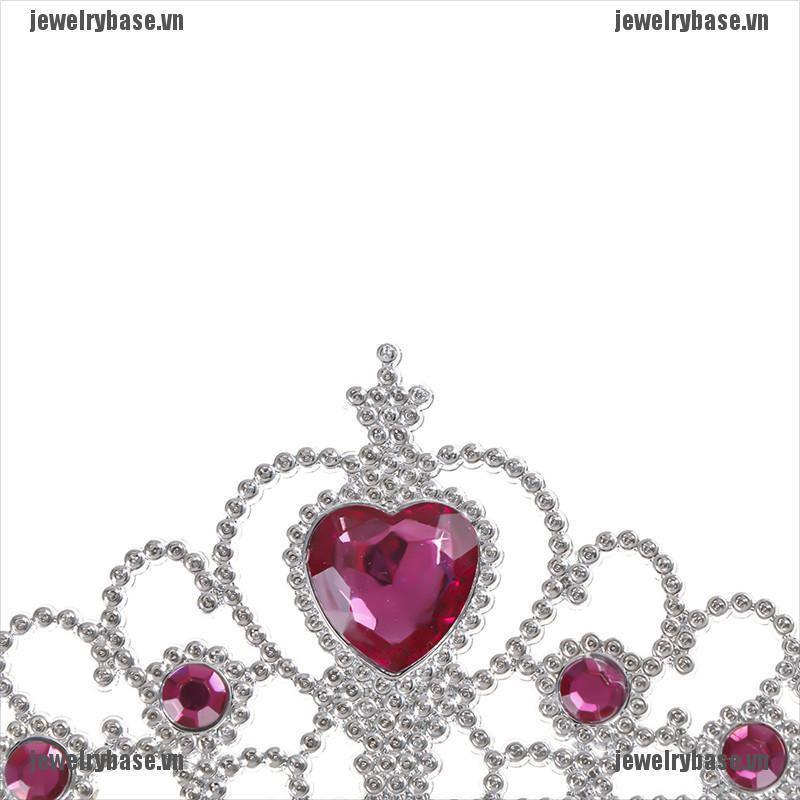 Set vương miện công chúa + gậy phép thuật cho bé gái