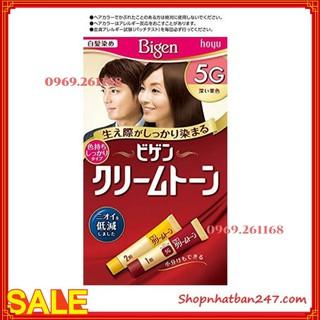 Thuốc nhuộm tóc BIGEN Nhật mẫu mới - 100% Authentic