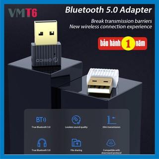 [Mã ELFLASH5 giảm 20K đơn 50K] USB Bluetooth 5.0 BTA508 Adaptor bàn phím chuột loa không dây - Bảo hành 1 năm !
