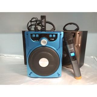 Loa Bluetooth karaoke xách tay gảm strees lúc căng thẳng nhé + 1 Mic không dây xịn GP90091