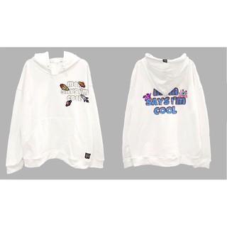 áo hoodie universe trắng (kem)