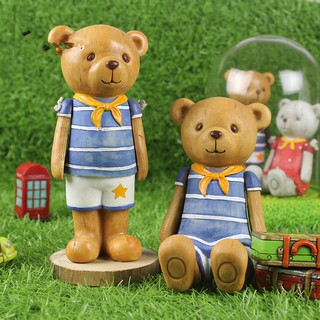 Mô Hình Gấu Teddy Xinh Xắn Dùng Để Trang Trí