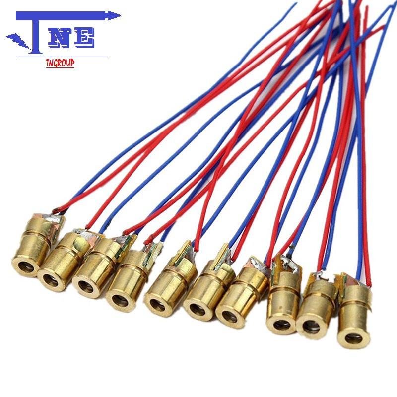 Diode laser 5V đầu laser 6MM