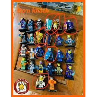 Đơn khách – Minifigures – Suit ironman !