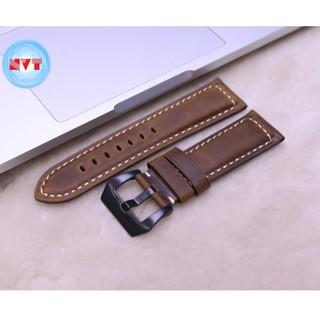 Dây Da Đồng Hồ Da Bò Sáp Vintage, Dây đeo bằng da cổ điển, ( Apple 1,2,3,4,5,6 - Đồng Hồ cổ Điển - Các Loại Swatch )