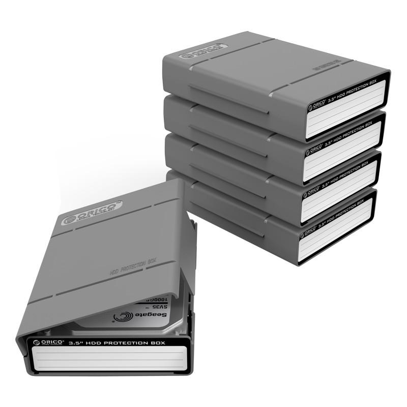 Bộ 5 hộp bảo vệ ổ cứng 3.5 Inches Orico PHP-35