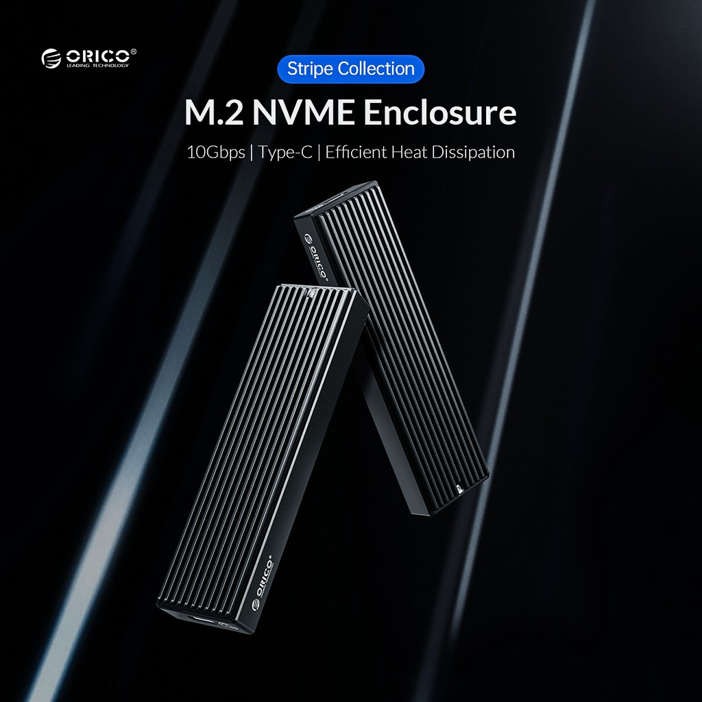 Hộp ổ cứng SSD ORICO NVME M.2 M2PV-C3-BK