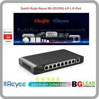 Thiết bị mạng Switch Ruijie Reyee RG-ES109G-LP-L 8-Port Gigabit Unmanaged thumbnail