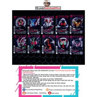 Card Kamen Rider decade w ooo fourze wizard gaim drive ghost ex-aid build zi-o