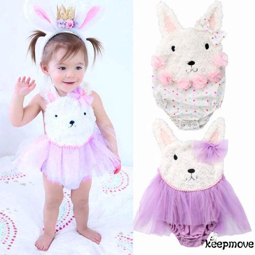 ☭X-Cute Newborn Infant Baby Girl Rabbit R