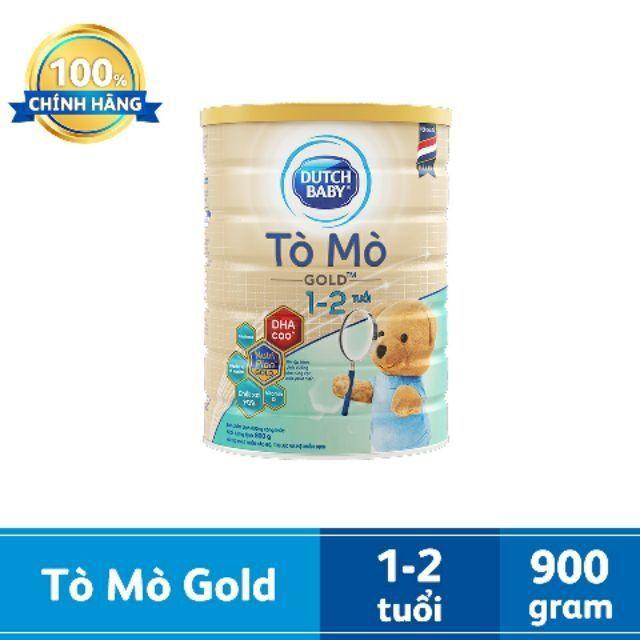 Sữa Dutch Baby TÒ MÒ gold 900g