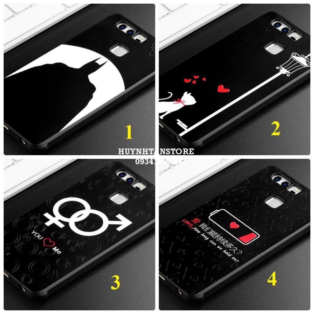 Huawei P9 _ Ốp chống sốc họa tiết in nổi 3D chính hãng cocose