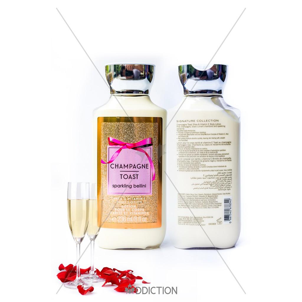 Sữa dưỡng thể Champagne Toast - Bath & Body Works (236ml)