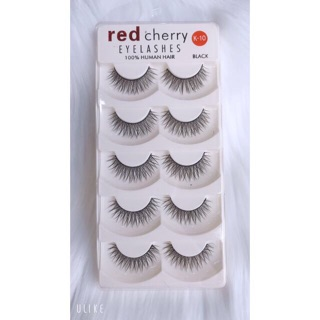 Mi giả 3D cao cấp( red cherry-Loai 5 cặp hộp)-5
