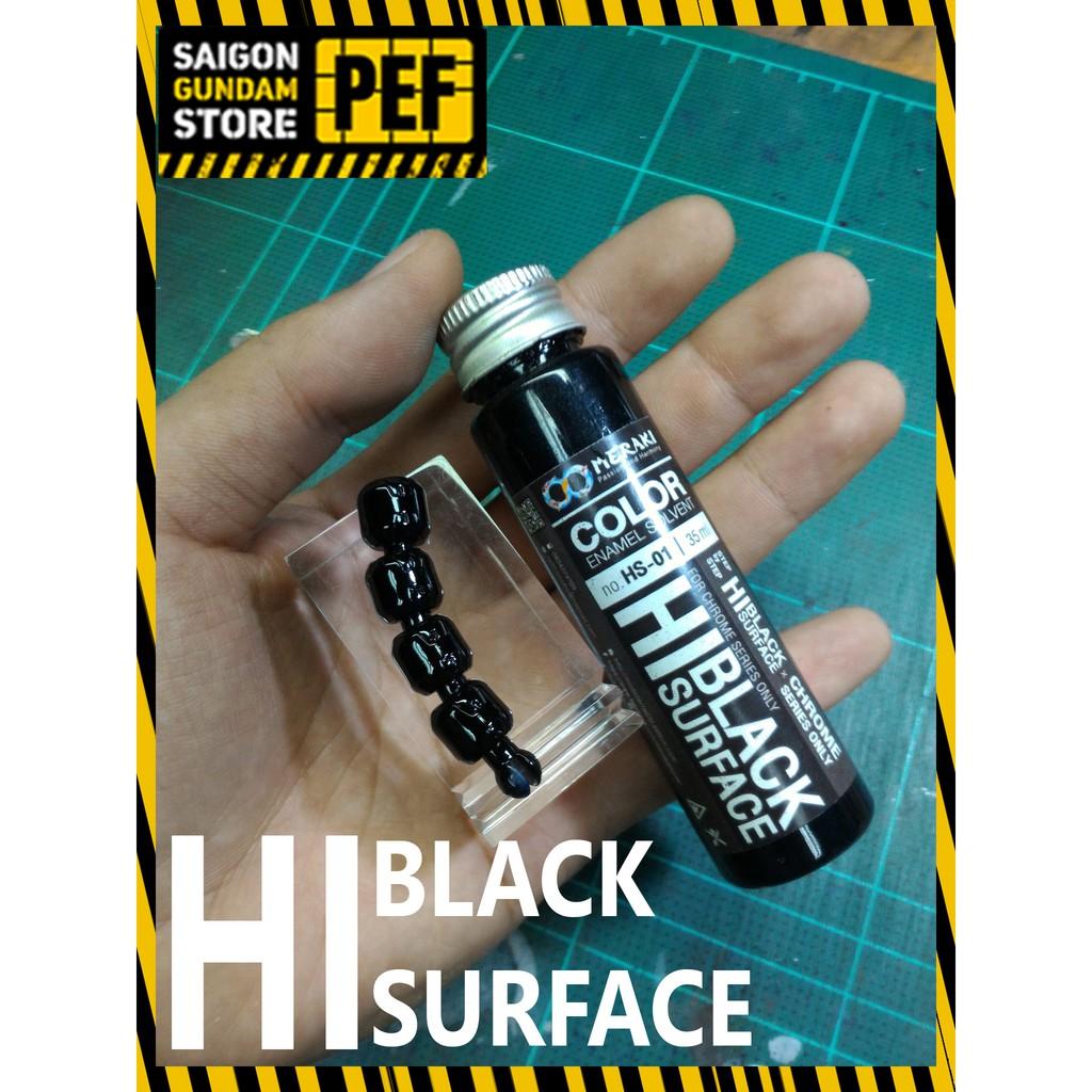 Sơn lót đen Raditz Hi-Black Surface để lên màu Chrome 35ml