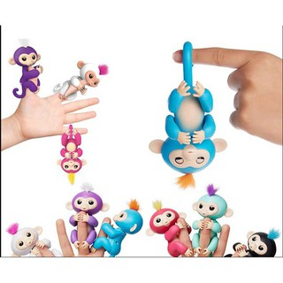 Kid's Puppet Portable Monkey Shaped Entertainment Interactive Toy Finger Toy