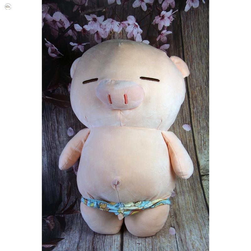 [ENDOW]Gấu Oenpe lợn bông hồng, chất liệu cao cấp làm quà tặng