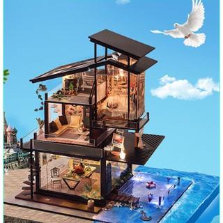 Mô hình nhà gỗ DIY Biệt Thự Valencia