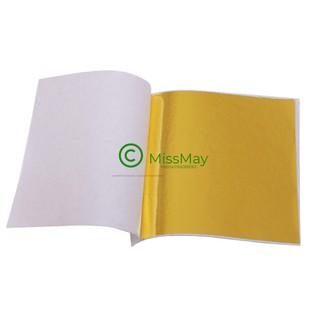 lá vàng – lá bạc 9x9cm