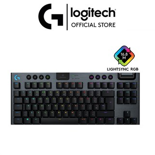 Bàn phím game cơ học RGB không dây LIGHTSPEED Logitech G913 TKL thumbnail