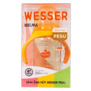 Bình ống hút Wesser PESU (260ml)