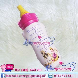 Gối Ôm Bình Sữa Hồng 60cm