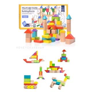 Building Blocks Mideer – Xếp khối gỗ cho bé