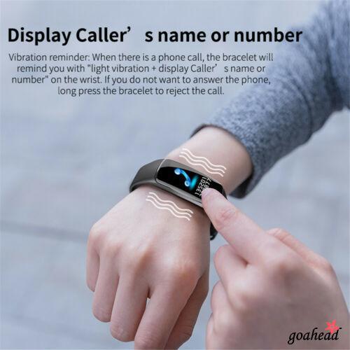 Đồng hồ thông minh kết nối Bluetooth theo dõi sức khỏe cho iOS & Android