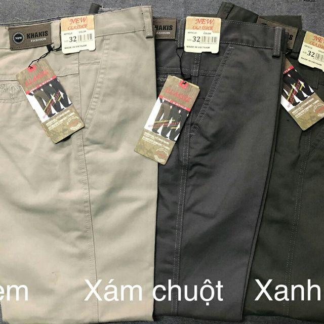 Combo 2 quần kaki nam - quần dài nam Combo 2 quần kaki nam