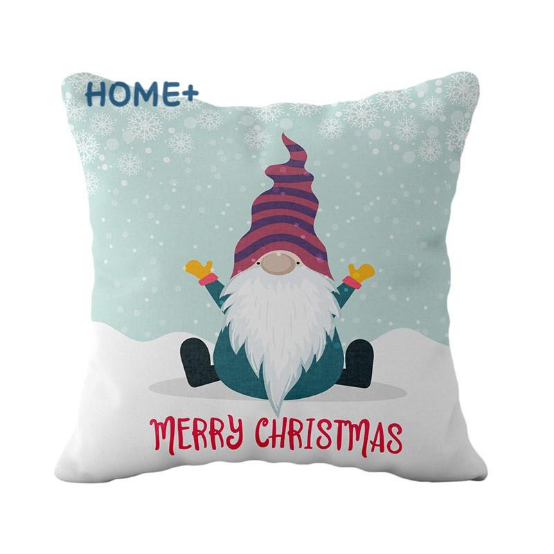 Bộ 4 Vỏ Gối Phong Cách Giáng Sinh Đáng Yêu