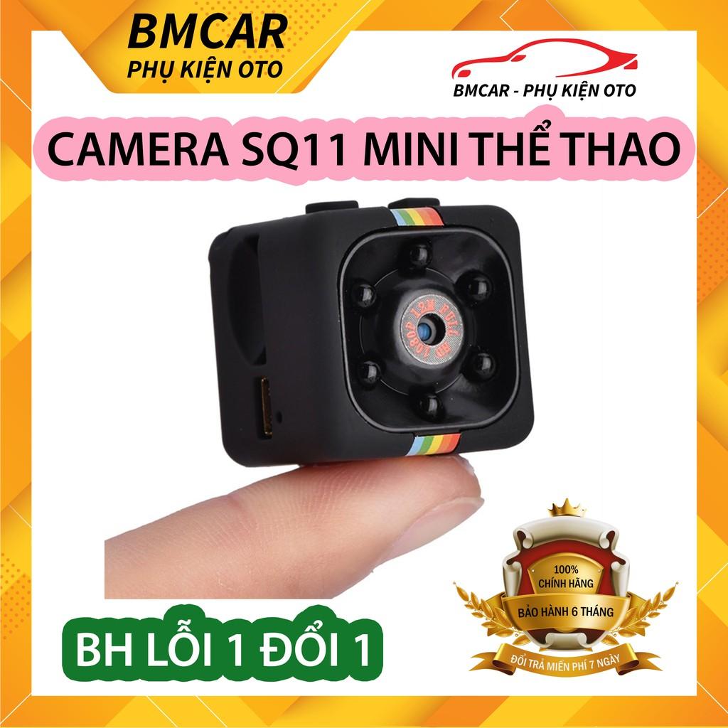 [BẢO HÀNH 6 THÁNG] Camera hành trình ô tô, xe máy mini SQ11 FULL HD960 CHỐNG RUNG CHỐNG NƯỚC, 6 LED, ĐỘ BỀN CAO - BMCAR