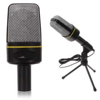 Micro để bàn thu âm chất lượng cao dùng cho máy tính ,laptop hô trợ học Online, chat videocall