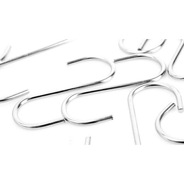 Móc treo đồ inox hình chữ S