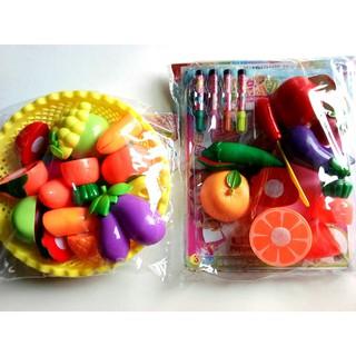 Đồ chơi cho bé – Cắt , bổ trái cây nào các bạn nhỏ