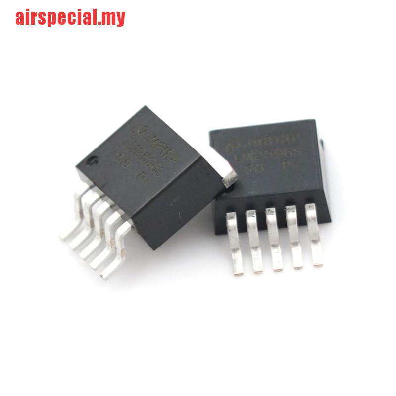 Bộ 10 Linh Kiện Điều Chỉnh Điện Áp LM2596S-5.0 LM2596 IC SMD TO-263-5