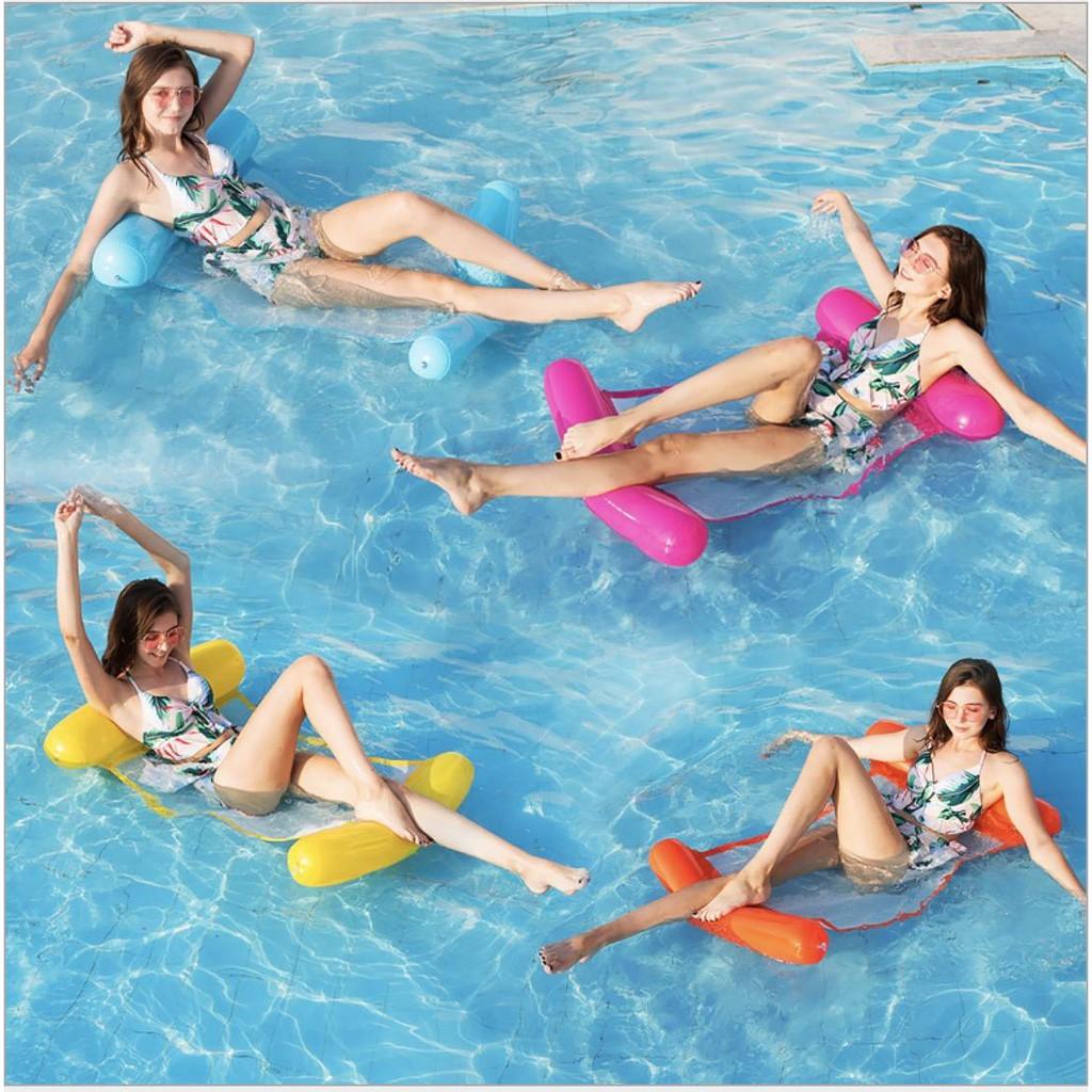 [Sale Sập Sàn] Phao bơi võng nước SWIM, phao bơi giường lưới TH3 - AD