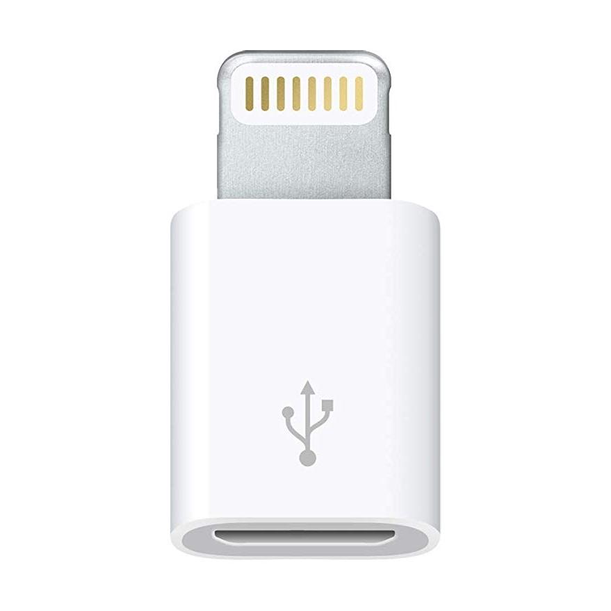 Đầu chuyển đổi từ cổng lightning sang cổng micro usb dành cho iPhone X/8/7/6 iPad Air Mini iPod