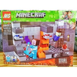 Lego Lắp Ráp Nhà MineCraft – MG 68003 ( 180 Mảnh )