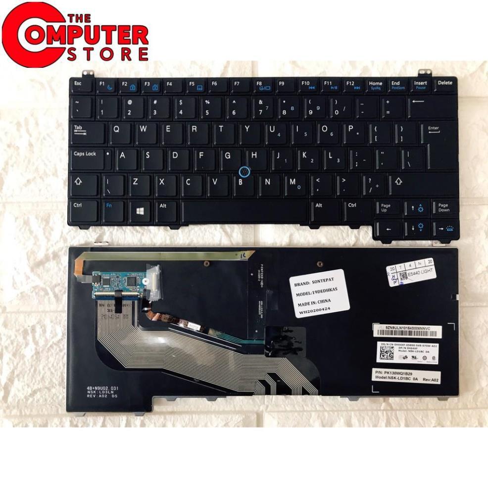 Bàn Phím Laptop Dell Latitude E5440 Có Đèn LED Chất lượng Cao- Nhập Khẩu (  FREE SHIP ĐƠN TỪ 50K ) giảm chỉ còn 299,000 đ