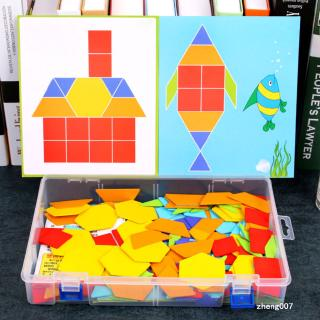 180Pcs/Set Infant Multifunction Color Cognition Jigsaw Puzzle Toy