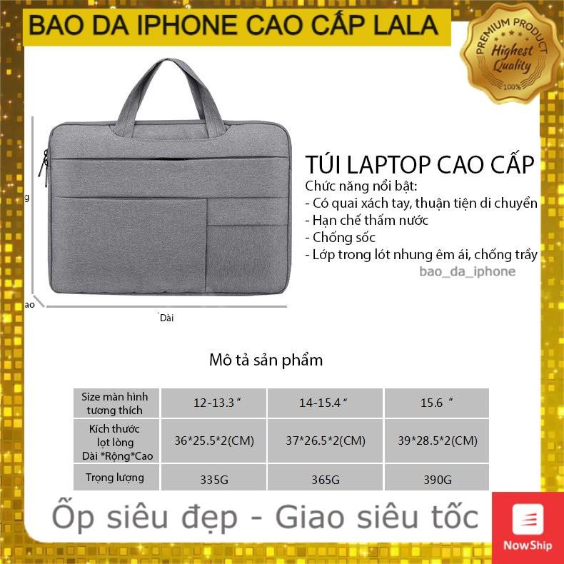 Túi Đựng Macbook Laptop / Túi Chống Sốc Laptop Macbook Air Pro Retina 11 12 13 14 15 15.6 inch