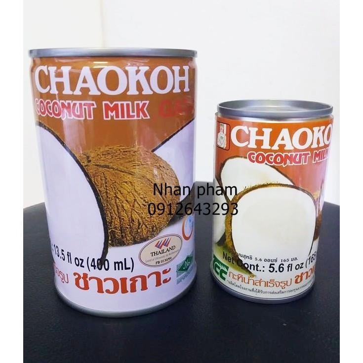 Nước cốt dừa Chaokoh của Thái