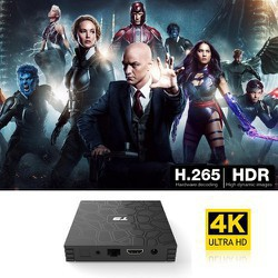 Android TV Box T9 Ram 4GB Rom 32GB RK3318 Android 9.0 64bit Cortex-A53, up to 2